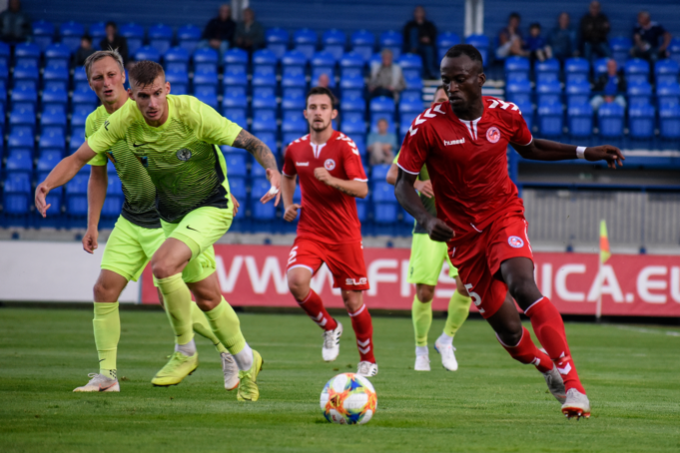 In final preseason game win on home pitch against Prostějov