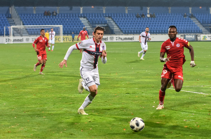 Unsuccessful start to the superstructure part of the league, lose against Zlate Moravce