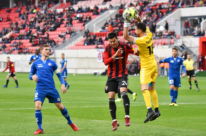Against Trnava in the battle for a seat in the Slovnaft Cup final