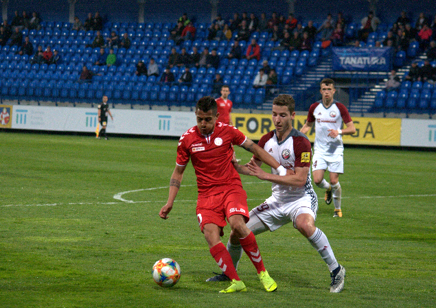The first point in spring, a goalless draw against Podbrezová