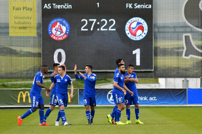 On Saturday against Trenčín with the aim to repeat three-point performance