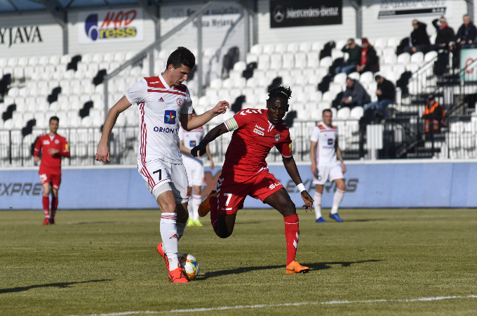On Saturday at Myjava with the second attempt to beat Trenčín