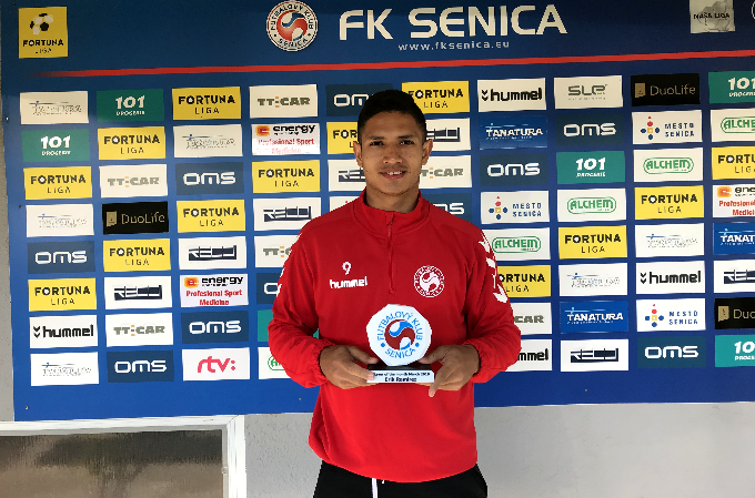 Player of the month March - Eric Ramirez