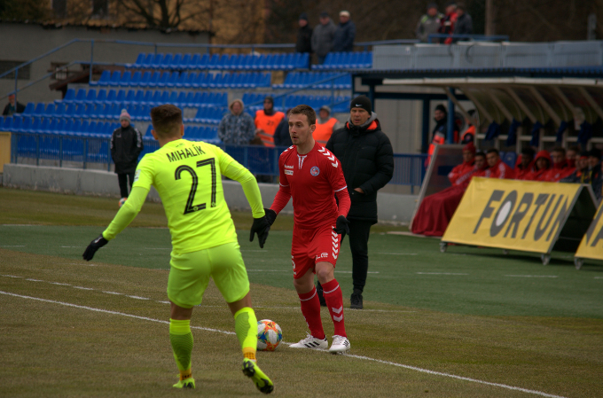Žilina won the match with one accurate free kick