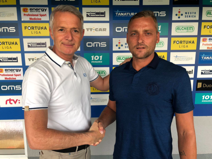 Michal Ščasný is the new coach of our team