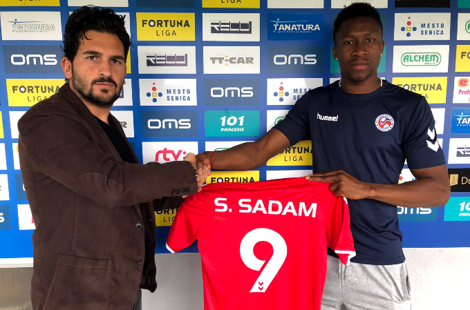 Striker Sadam Sulley is coming to strenghten our attack