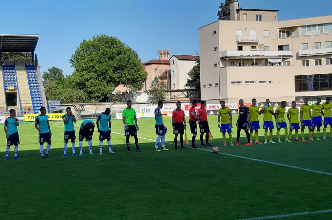 First defeat in summer preseason, against Zlin we lost by three goals difference