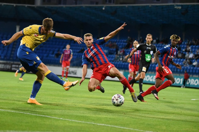 In six-goal match lost against DAC