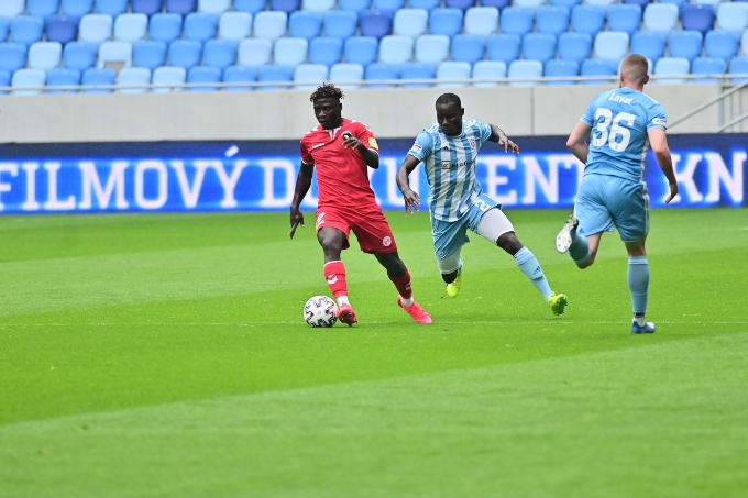 Goalless draw in training match against Slovan
