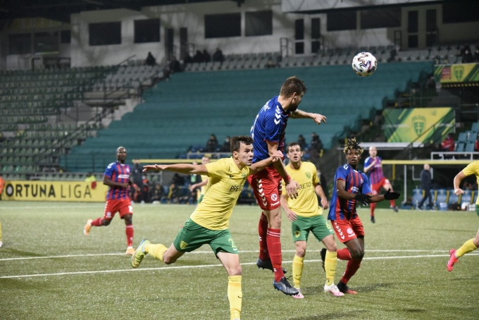 Lost against Zilina, effectivity decided the match
